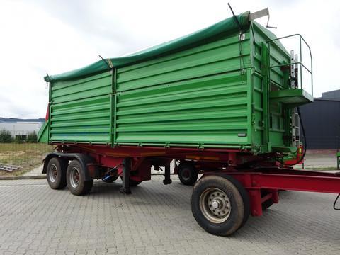 Kröger Anhänger Wechselbrücke, 29600 kg, 40 km/h