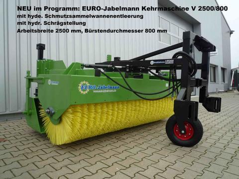 EURO-Jabelmann Kehrmaschine V 2500/800, 2,50 m breit, 800 mm Bü
