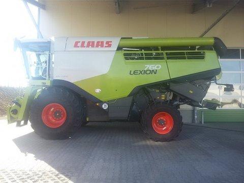 CLAAS Lexion 760 + V 770