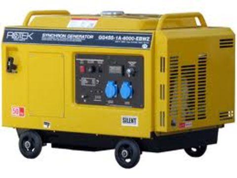Sonstige Benzinaggregat, geräuschgedämmt 5 KvA