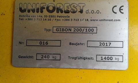 Uniforest Gibon 200/100-2C