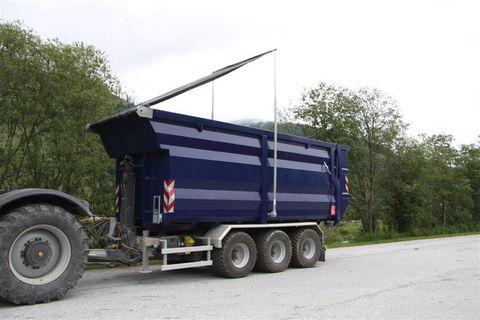 Containerprofi Abrollcontainer mit Quickcover Rollplanensystem