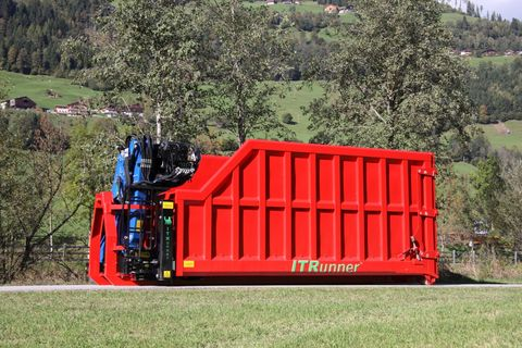 Containerprofi Krancontainer mit Holzzange