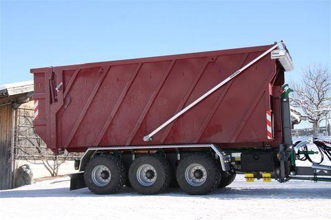 Containerprofi Abschiebecontainer mit Quick-Cover