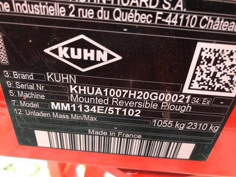 Kuhn MM 113 4ET Volldrehpflug