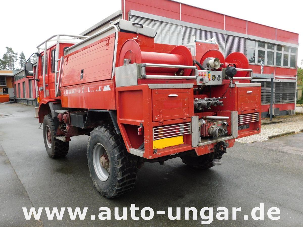 Renault M150 Midliner 4x4 Feuerwehr TLF 2000 Off-Road Wa - Auto ...