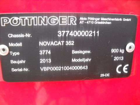 Pöttinger Novacat 352
