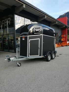 Böckmann Pferdeanhänger Duo Esprit Silver + Black