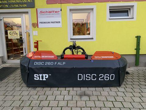 SIP Disc F 260 Alp mit hydraulischer Seitenverschub