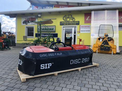 SIP Disc F 260 Alp Frontscheibenmähwerk