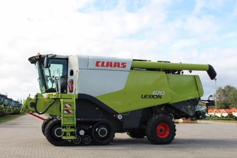 Claas LEXION 670 TERRA TRAC
