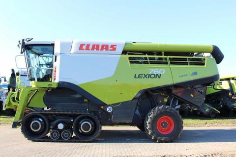 Claas LEXION 760 TERRA TRAC