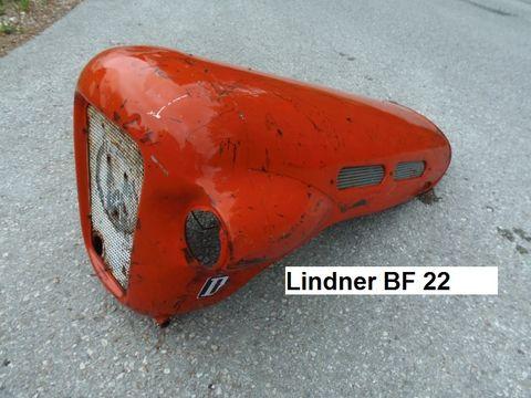 Lindner BF 22 Motorhaube