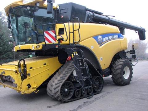 New Holland CR 9090 RAUPE
