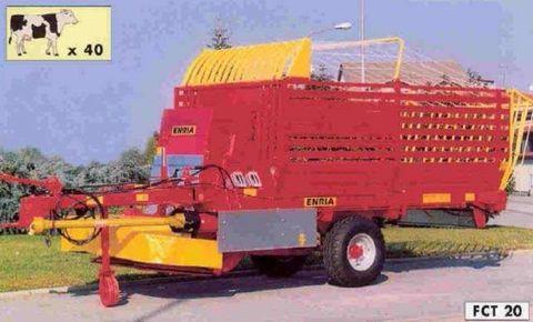 Egyéb ENRIA FCT 28 SPB betakarító és kiosztó kocsi