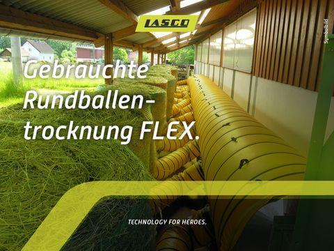 Lasco Rundballenbelüftung Flex 30