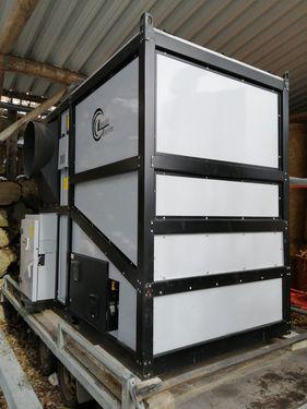 Lasco Warmlufterzeuger Hackgut LA150 V1