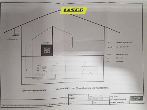 Lasco Belüftungssteuerung HB 22 für Heutrocknung