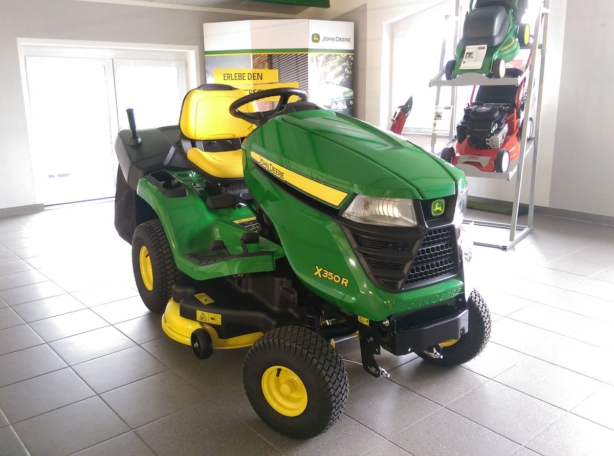john deere x350r mit grasfangkorb - essence - tracteurs-affaires.fr