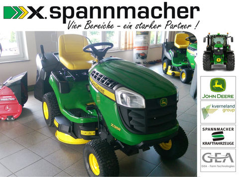 john deere x135r mit grasfangkorb wasserschlauchanschlu. Black Bedroom Furniture Sets. Home Design Ideas
