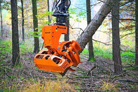 Westtech Woodcracker CS510 crane