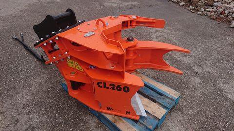 Westtech Woodcracker CL260 inkl. Sammelgreifer