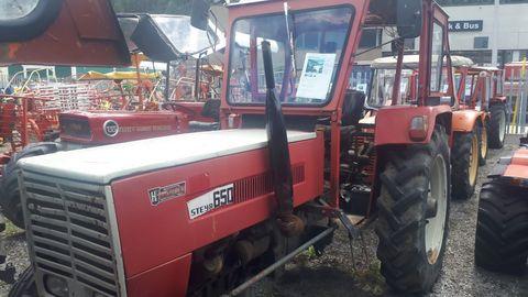 Steyr 650 Hinterrad