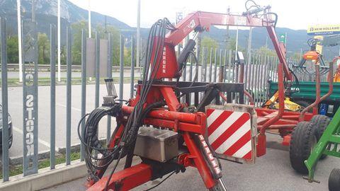 Berger Rückewagen mit 6,7 m Kran