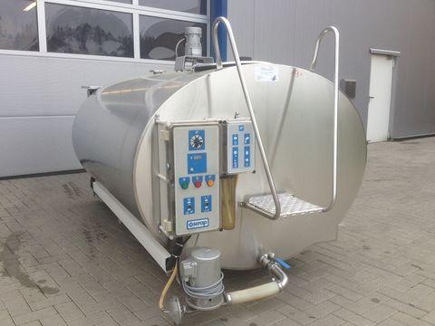 Serap Milchtank / Milchkühltank 2500 Liter