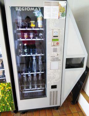 Regiomat mit Eierbox - Eierautomat