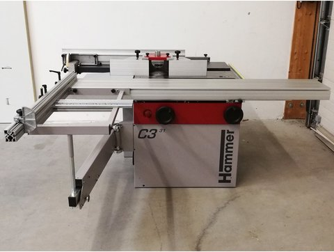 used Hammer combined woodworking machines - Landwirt com