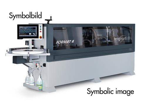 Kantenanleimmaschine Format-4 tempora F400 45.03L x-motion