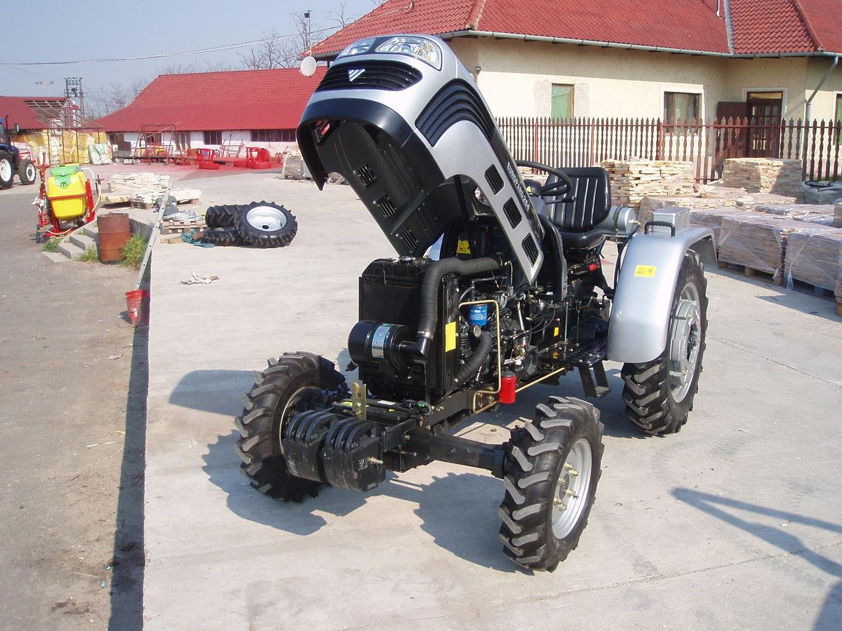 Tip: TE254 traktor KS / kW: 25 KS / 19 kW Godina proizvodnje: 2014