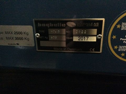 Bogballe M2W base 1250