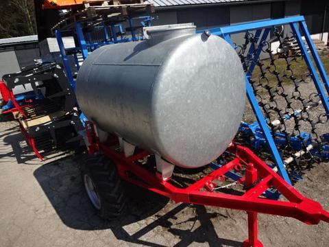 2000 Liter Wassertank mit Fahrgestell