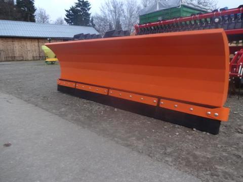 New- Agro -  Snow Plow- Schwere Ausführung - 3 Meter Schneeschild 3 Meter Hydraulisch