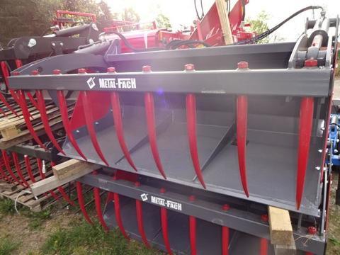 Metal -Fach Silogreifschaufel Silogreifschaufel 1,8 Meter- und 2 Meter  Hydrau