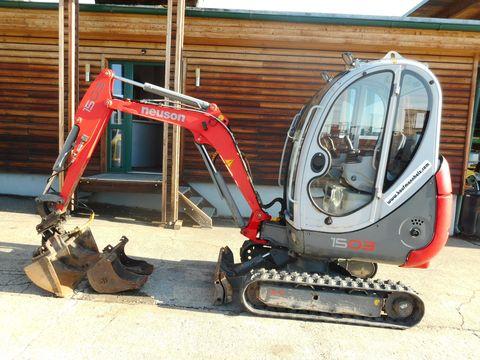Neuson 1503 RD (1.705kg) SW + 3 Löffel !!