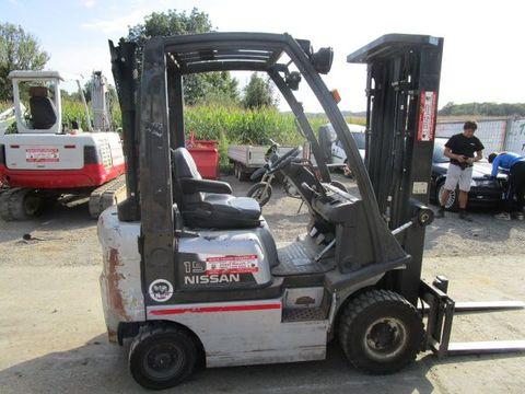 Nissan 1,5 Ton.- Triplex-FH 4,75m - 2007