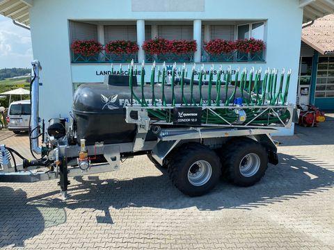 Farmtech Polycis 1100T + 12m Schleppschuh