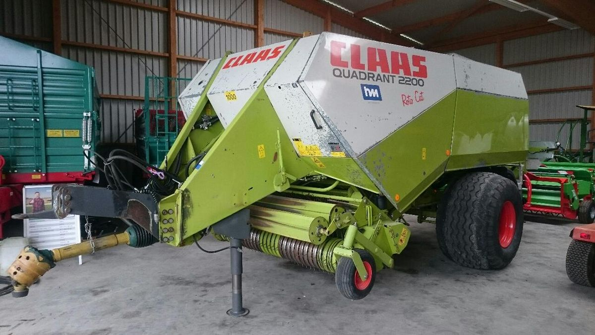 Claas, Quadrant 2200RC, 2007