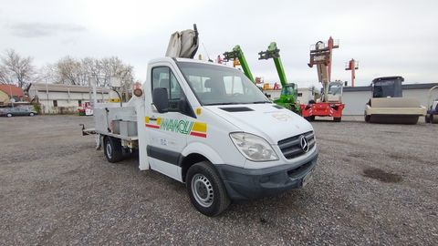 Mercedes Sprinter Multitel MT182 AZ - 18m, 200kg