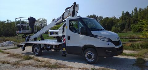 Iveco Daily Oil&Steel Scorpion 1812 - 18m - 225 kg