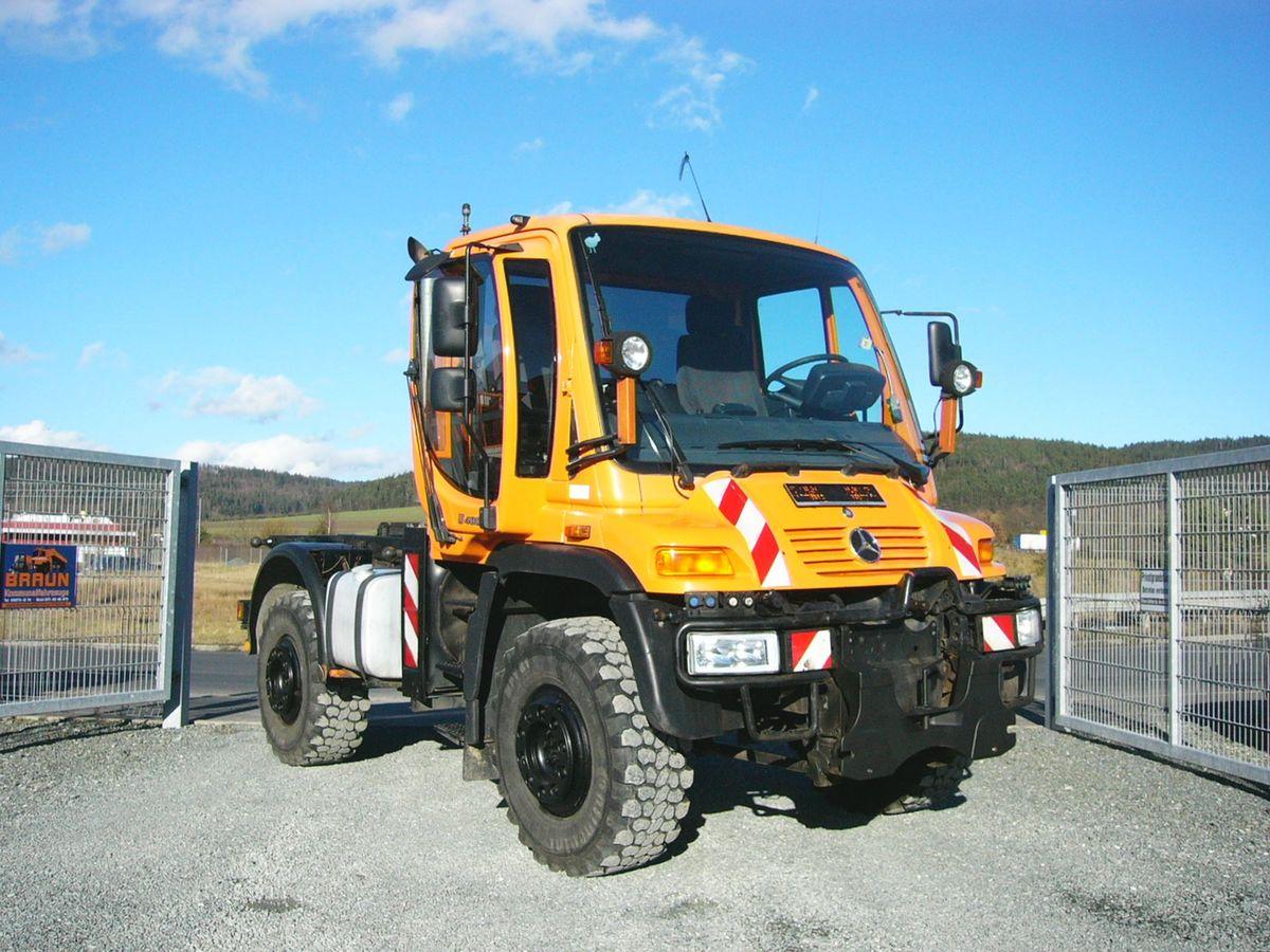 Mercedes u400 4x4 hydrostat leistungshydraulik for Chambre a air tracteur occasion