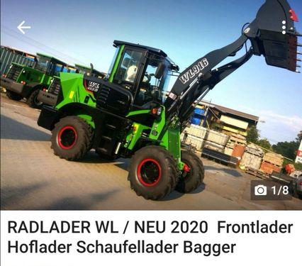 Sonstige » RADLADER Hoftrac Hoflader WL910 » NEU Bj.2019