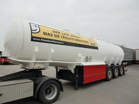 Schwarzmüller Tankauflieger, Diesel/Benzin 43550L inkl Pumpanl