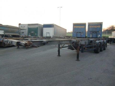 Schwarzmüller Chassis Containerverriegelung 3-achs 20/30/40