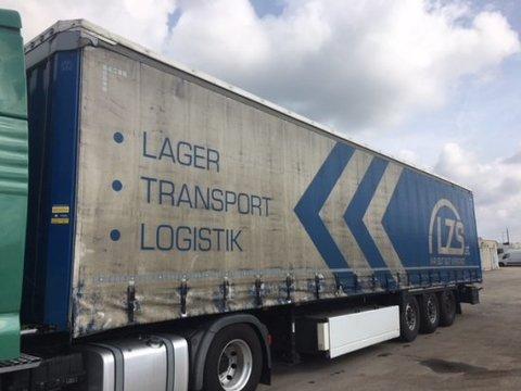 Krone SD Tautliner, EDSCHA-Verdeck, XL-Zertifikat,