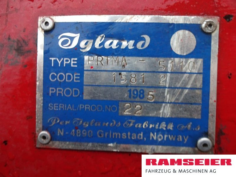 Igland, Prima 5110, 1985 | Winden | Agropool