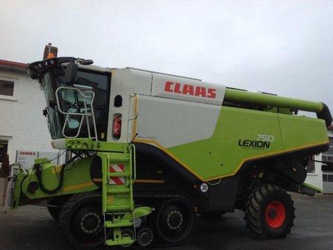 CLAAS Lexion 750 TT + C 750 Schneidwerk